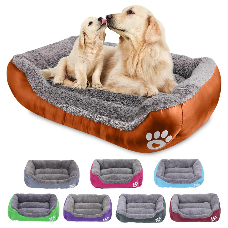 S 3XL Dogs Bed For Small Medium Large Dogs Big Basket Pet House Waterproof Bottom Soft