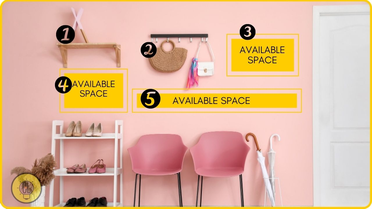 wall storage for small apartment organization