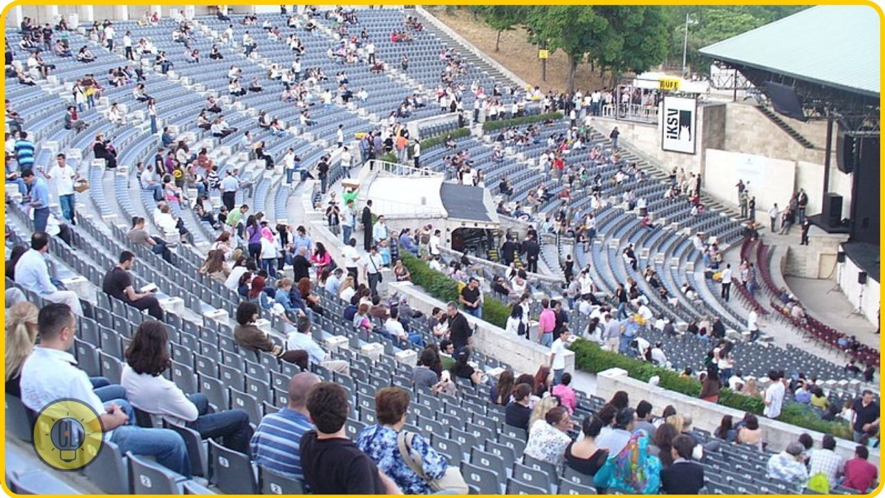 Cemil Topuzlu Open Air theatre istanbul tourism