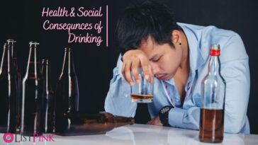 Health Risks Of Alcohol 12 Physical Social Consequences of drinking