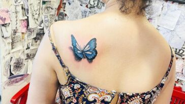 gorgeous butterfly tattoo ideas