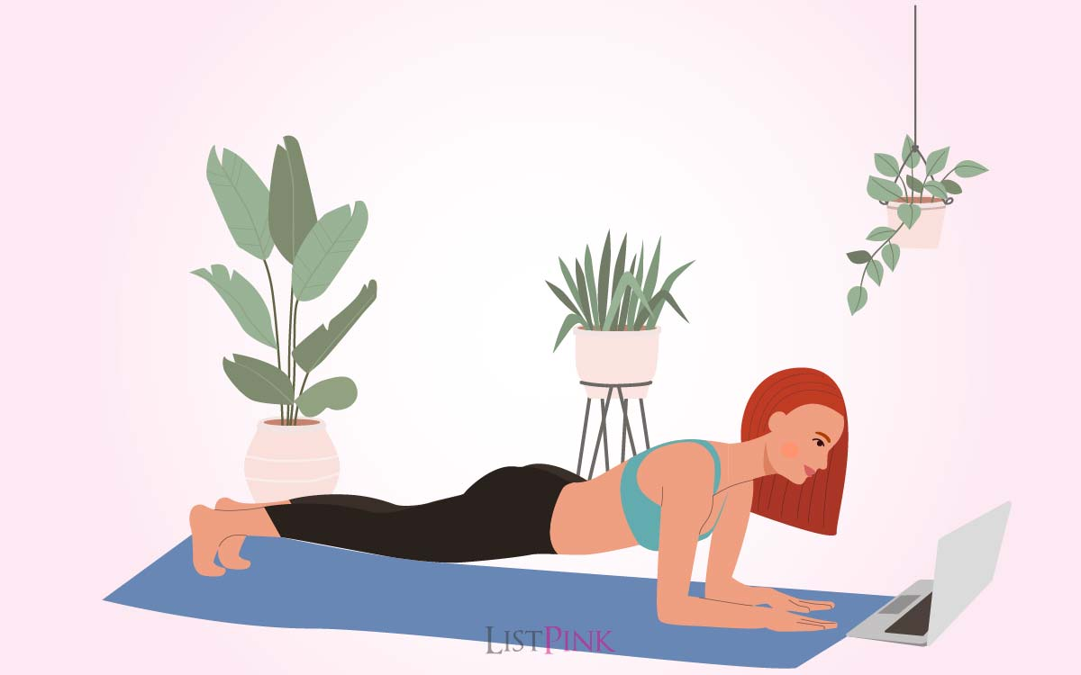 strong core abs with yoga poses 01