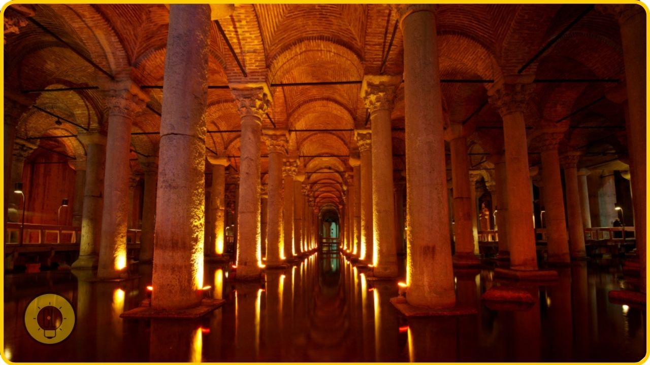 the Basilica Cistern istanbul attractions